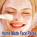 home made face packs